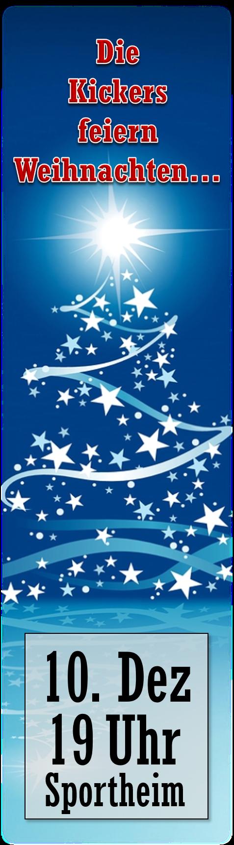 Banner Weihnachtsfeier 2016
